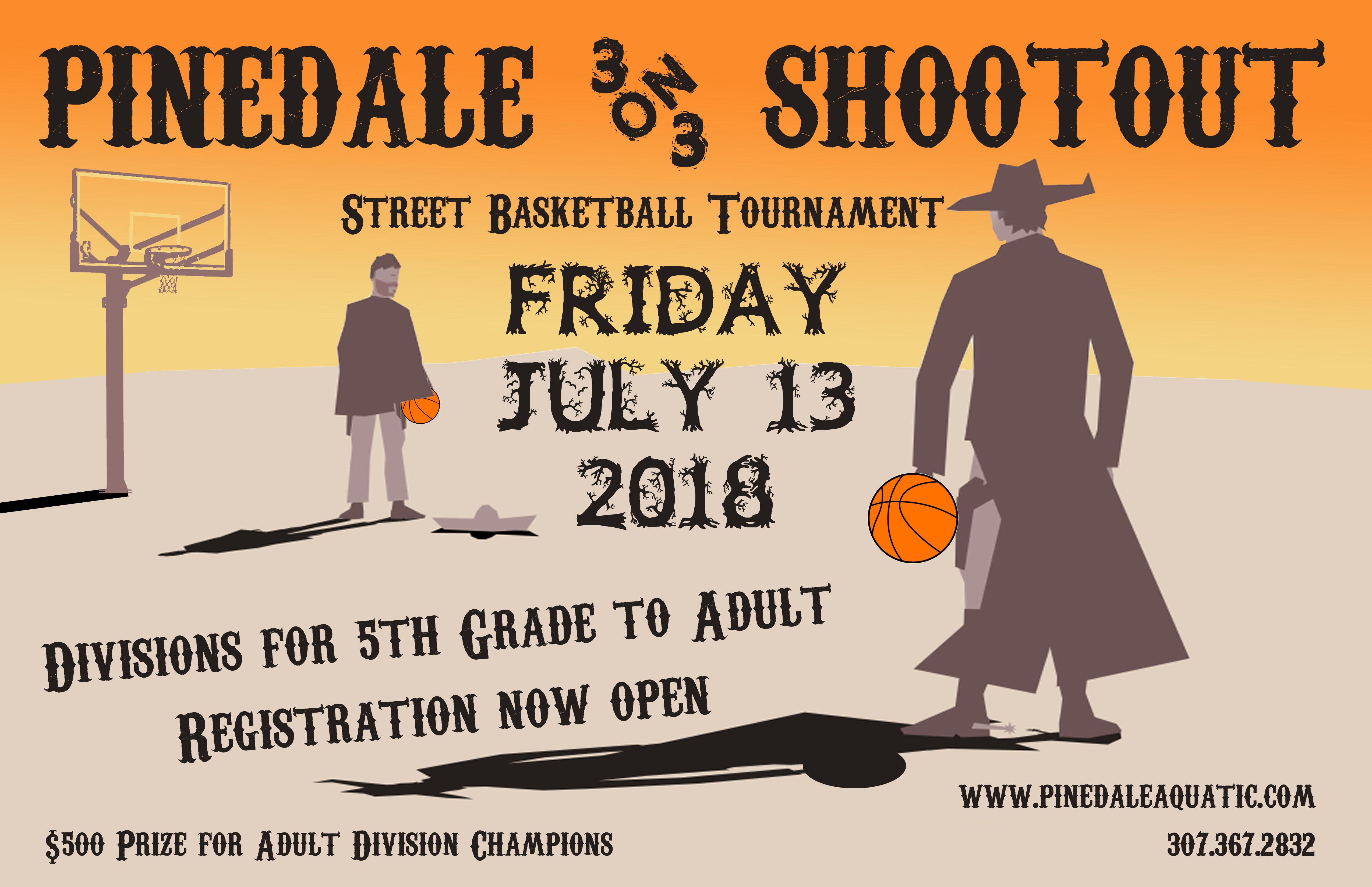 Pinedale 3 on 3 Basketball Shootout